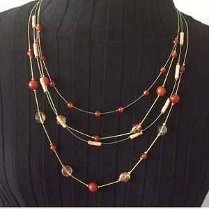 Ashley Cooper Multilayered Beaded Necklace